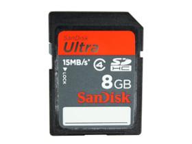 SanDisk SDHC卡(8GB)