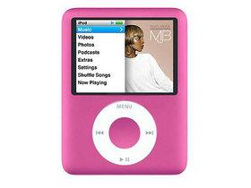 苹果iPod nano 3(粉色/8GB)