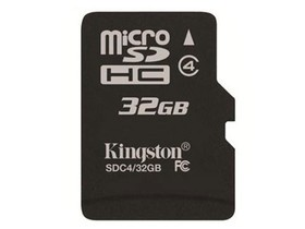 金士顿Micro SDHC/TF卡 Class4(32GB)
