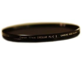 佳能77mm圆形偏光滤镜 PL-C II