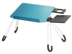 daho LD05 铝合金笔记本电脑桌(蓝色)