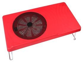 九州风神E-DESK 笔记本散热桌(红色)