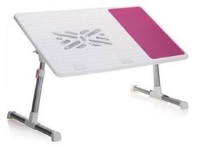 大豪FD-1 双风扇笔记本电脑桌(粉红色)