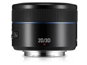 三星NX 45mm f/1.8 2D/3D镜头
