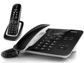 飞利浦DCTG492 2.4G来电显示语音报号无绳子母电话机