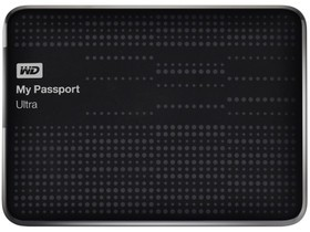 西部数据My Passport ultra 1TB(WDBZFP001...