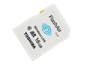 东芝FlashAir WiFi SDHC存储卡 Class10(16G...