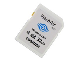 东芝FlashAir WiFi SDHC存储卡 Class10(32G...
